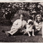 Nancy, Larry and Penelope in 1942