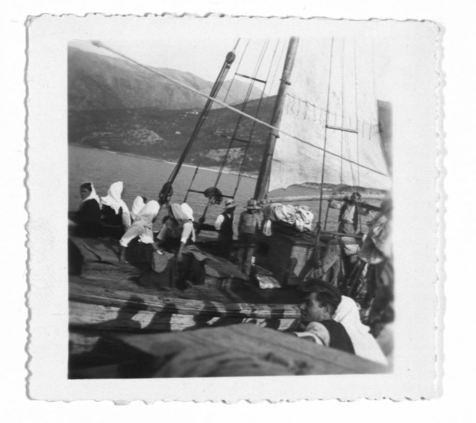 Caique with Passengers