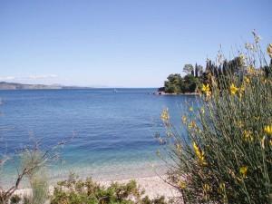 Corfu blue